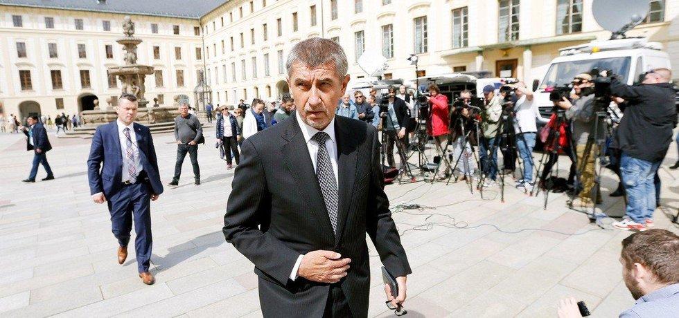 Předseda hnutí ANO Andrej Babiš, ilustrační foto