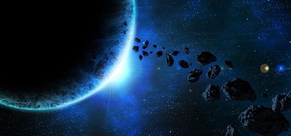 Asteroid. Ilustrační foto.