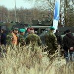 Vojenské testování. Lehká obrněná vozidla a osobní terénní automobily testovali vojenští experti na výcvikovém polygonu na okraji vojenského újezdu Březina.
