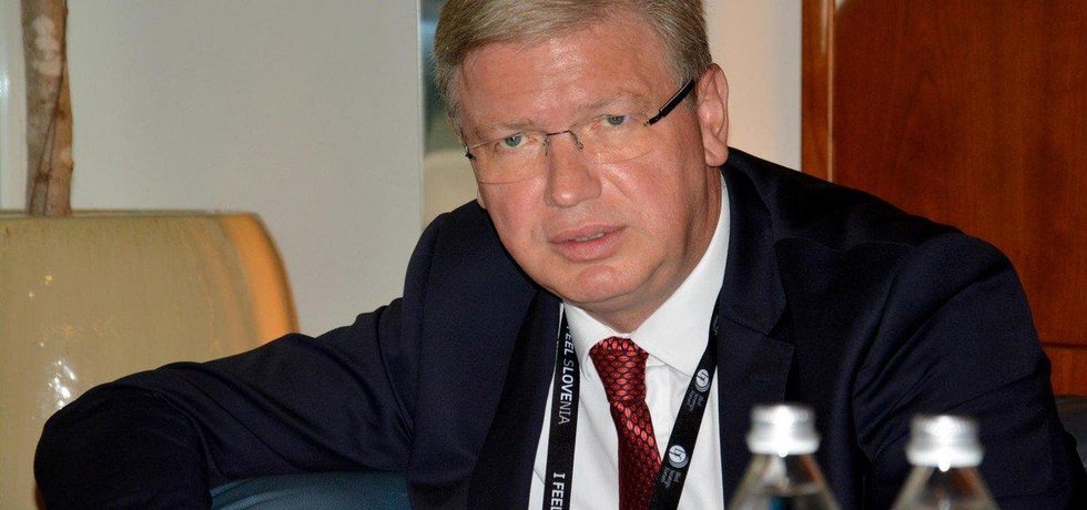 Diplomat, bývalý evropský komisař pro rozšiřování Evropské unie a bývalý komunista Štefan Füle