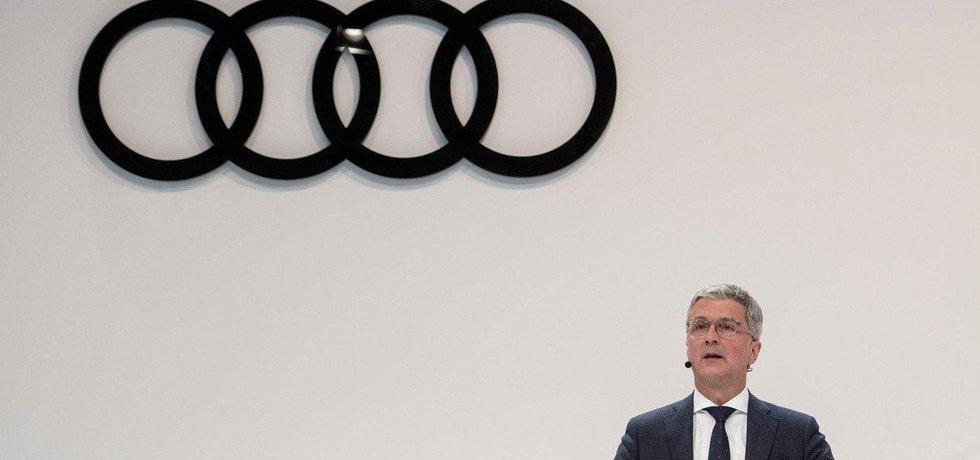 Šéf automobilky Audi Rupert Stadler