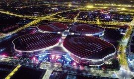 Šanghajský areál je největším výstavištěm na světě
