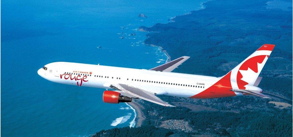 6d5add8d1 Air Canada rouge nabízí přímé letecké spojení z Letiště Václava Havla Praha  do Kanady