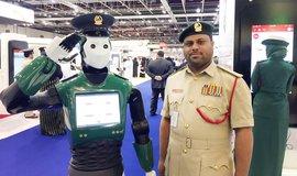 Dubajský robotický policista Robocop