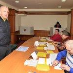 Milan Chovanec odevzdal svůj hlas  v Plzni