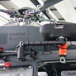 Protože speciální jednotky plánují použití strojů H145M i v městských operacích, k výsadkům využívají rychloslaňovací systémy.