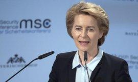 Německé ministryně obrany Ursula von der Leyenová (CDU)
