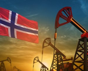 Norsko a těžba ropy, ilustrační foto