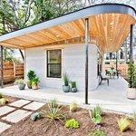 Vytištěný dům firmy Icon v texaském Austinu. Mohl by sloužit bezdomovcům.