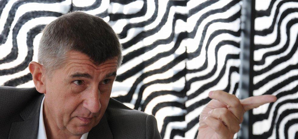 Šéf skupiny Agrofert a podle časopisu Forbes nejbohatší Slovák Andrej Babiš