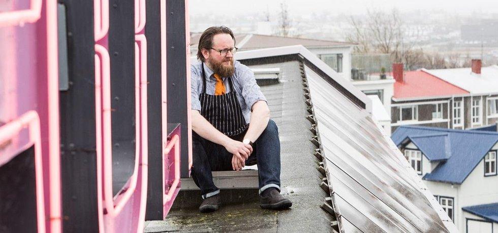 Islandský šéfkuchař Ragnar Eiríksson