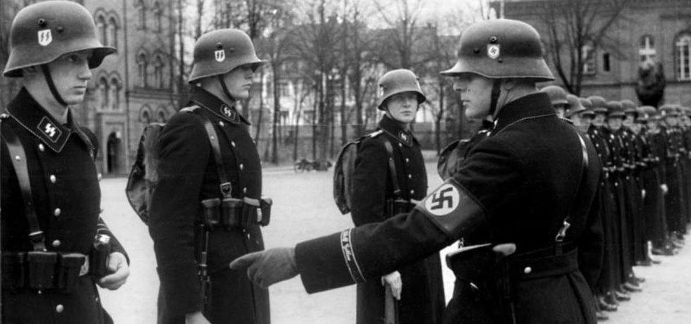 Jednotka SS v roce 1938, ilustrační foto