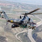 Vrtulník české armády MI 24