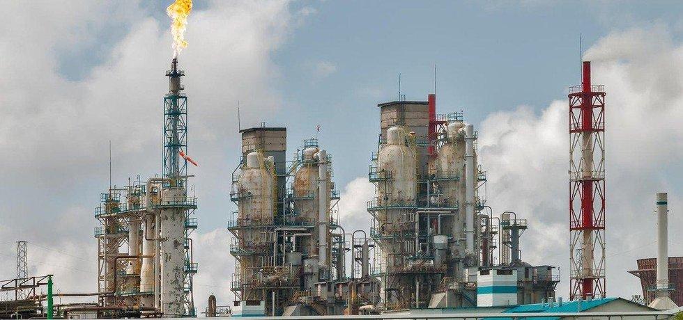 Rafinerie koncernu Sibur