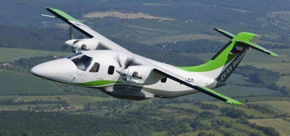 Letoun EV-55 Outback od kunovického výrobce Evektor