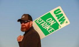 Stávka v General Motors, ilustrační foto