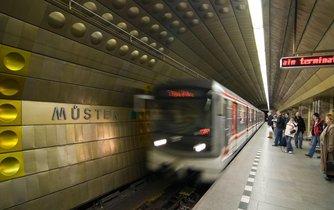 Stanice pražského metra Můstek