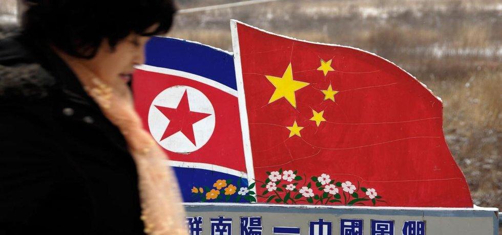 Jako sousedské země udržují Čína a Severní Korea obchodní vztahy