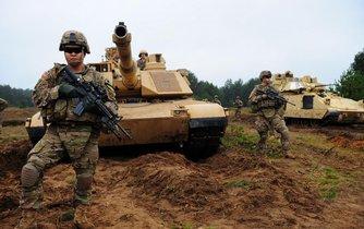 """Jednotky americké armády (na snímku) operovali v rámci akce """"Atlantic Resolve"""" (Atlantická rozhodnost) také v Litvě."""