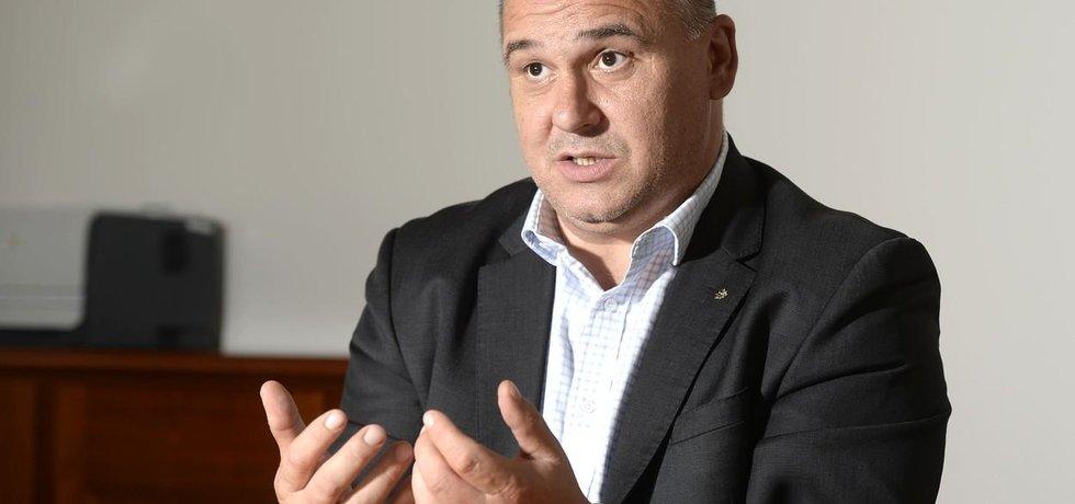 Volební manažer ČSSD Jan Birke