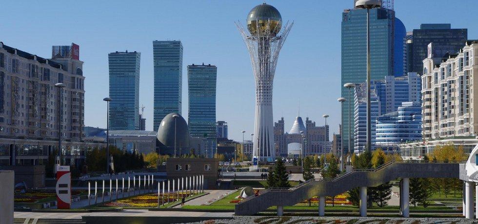 Hlavní město Kazachstánu
