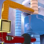 Berlínský tým vědců si nechal patentovat nový typ reaktoru, který využívá dvě kapaliny. Jako palivo roztavené soli, pro chlazení roztavené olovo.