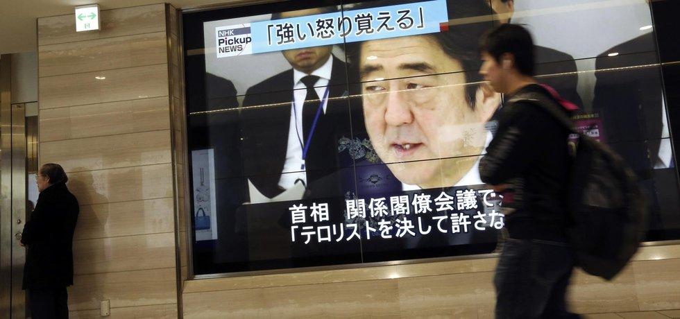 Premiéer Japonska Šinzó Abe