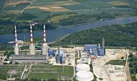 Paroplynová elektrárna v bavorském Irschingu