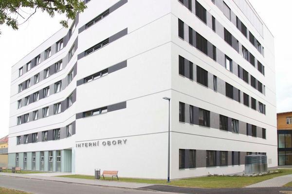 pavilon interních oborů Slezské nemocnice Opava