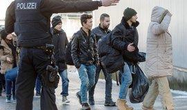 Migranti v Německu