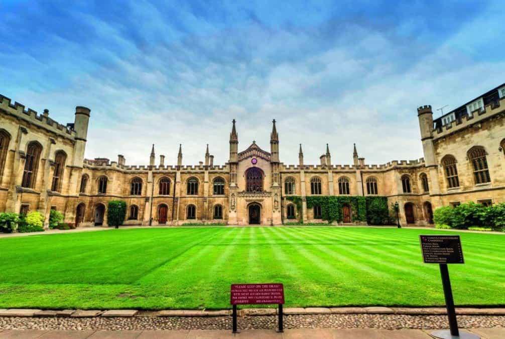 Univerzita v Cambridgi, ilustrační foto