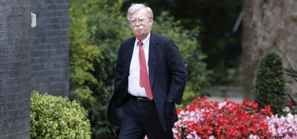 Bývalý bezpečnostní poradce Bílého domu John Bolton
