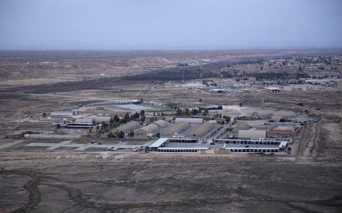 Základna Ajn al-Asad v Iráku