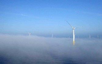 Německý větrný park Baltic 2.