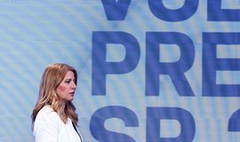 Zuzana Čaputová v předvolební debatě