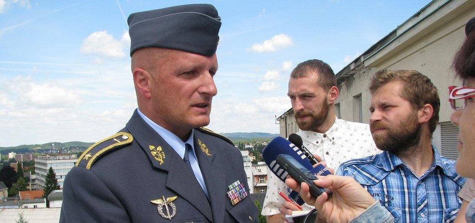 Bývalý velitel českých vzdušných sil Libor Štefánik