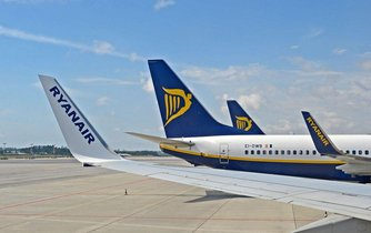 Boeing 737-300 společnosti Ryanair