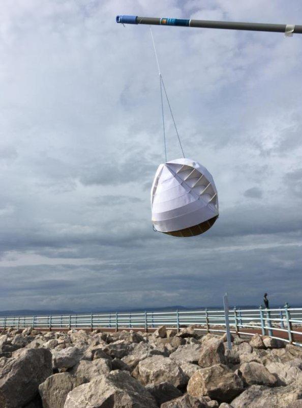 Prototyp větrné turbíny O-Wind.