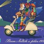 Dobová inzerce Vespa – Vánoce, 1956