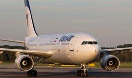 Letoun Airbus společnosti Iran Air (ilustrační foto)
