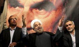 Nový íránský prezident Hasan Rúhání