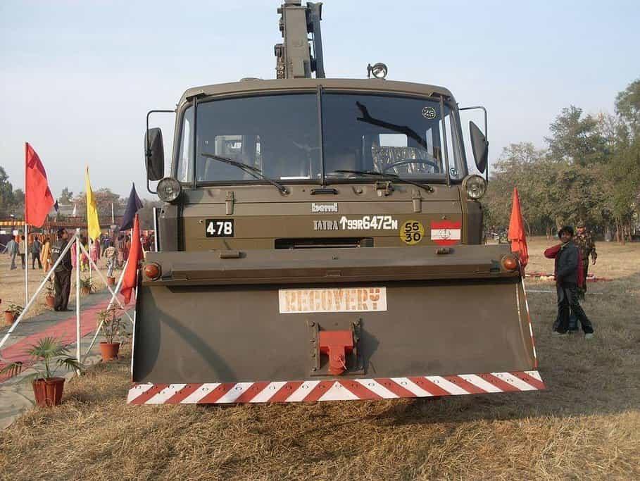 Tatra v indické armádě