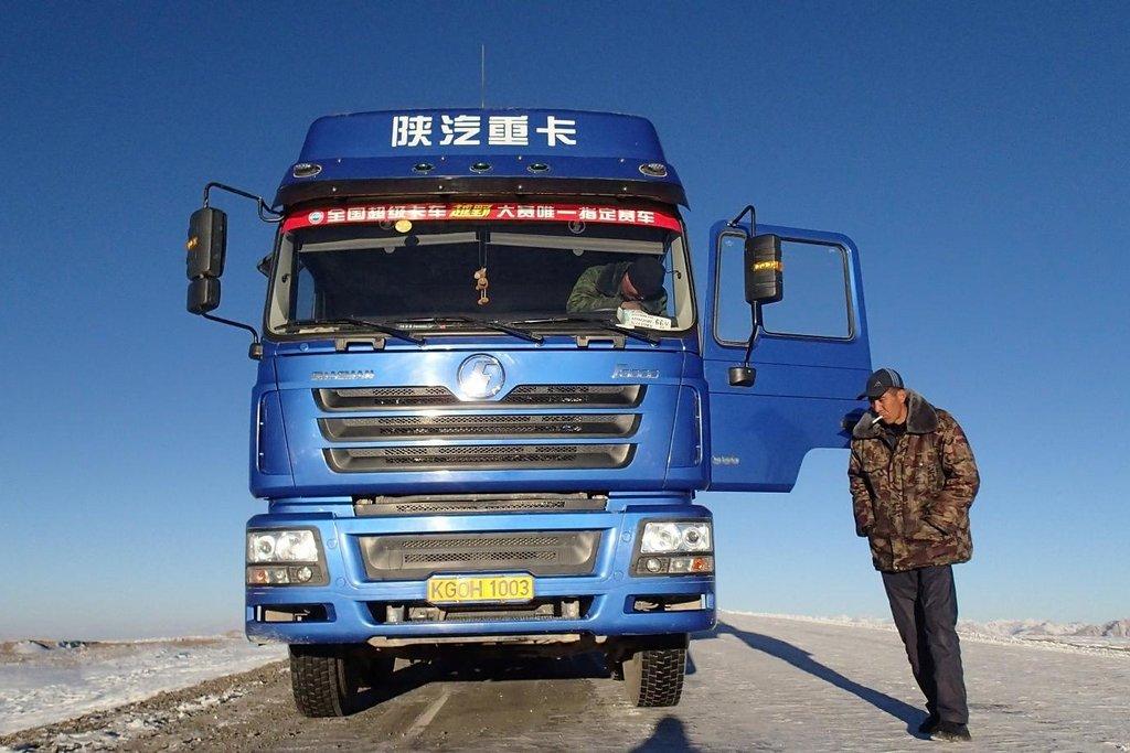 Zastavit kamion do Číny není problém