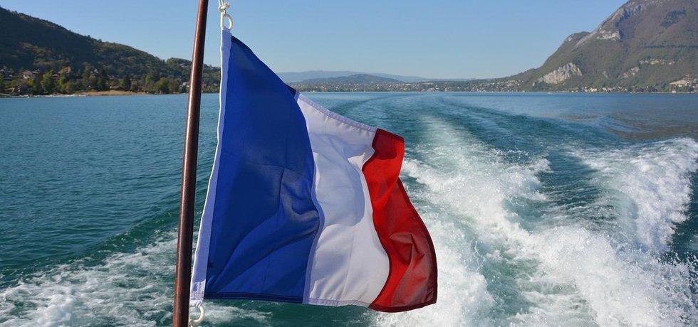 Francouzská vlajka, ilustrační foto