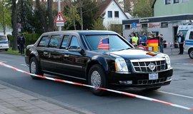 Cadillac DTS Baracka Obamy