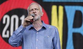 Předseda britských labouristů Jeremy Corbyn