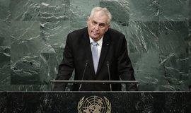 Miloš Zeman v OSN