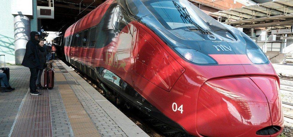 Vysokorychlostní vlak Italo, ilustrační foto