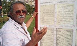 Předseda Výboru pro odškodnění romského holocaustu Čeněk Růžička