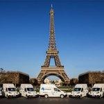 Dodávky Voltia v Paříži.